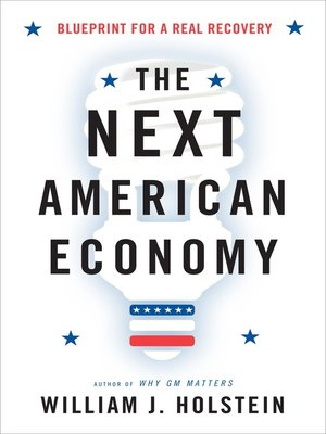cover image of The Next American Economy