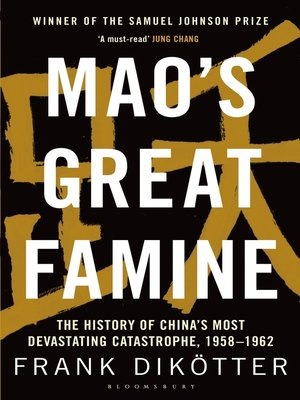 cover image of Mao's Great Famine