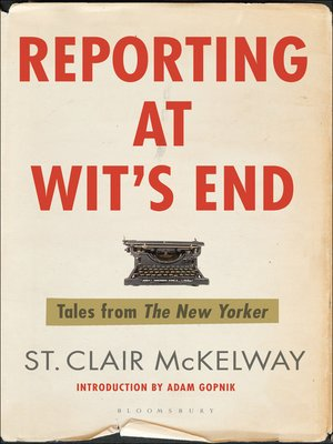 cover image of Reporting at Wit's End