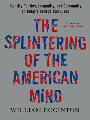 cover image of The Splintering of the American Mind