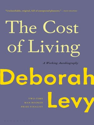 cover image of The Cost of Living