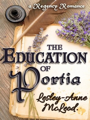cover image of The Education of Portia