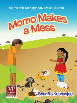 cover image of Momo Makes a Mess
