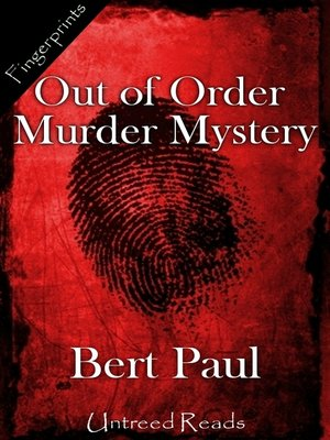 cover image of Out of Order Murder Mystery