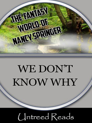 cover image of We Don't Know Why