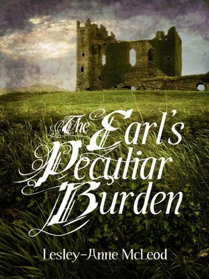 cover image of The Earl's Peculiar Burden