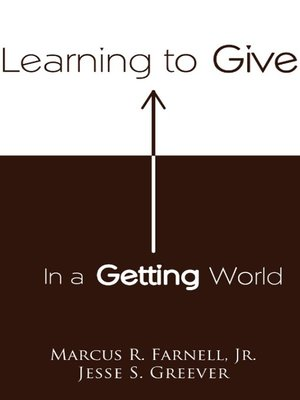 cover image of Learning to Give in a Getting World
