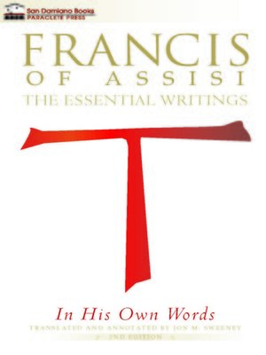 cover image of Francis of Assisi In His Own Words