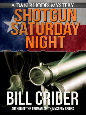cover image of Shotgun Saturday Night