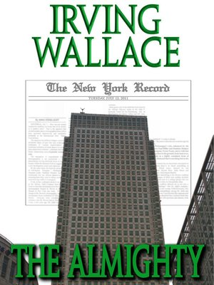 Second Lady Irving Wallace Pdf