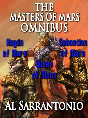 cover image of The Masters of Mars Omnibus