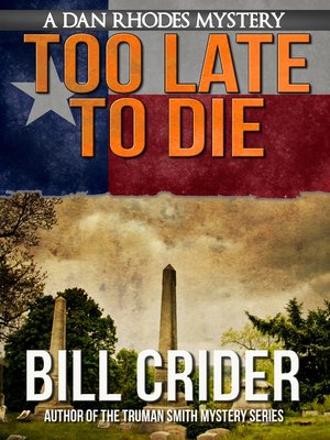 cover image of Too Late to Die