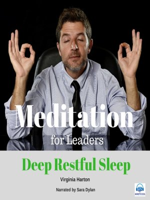 cover image of Meditation for Leaders: Deep Restful Sleep