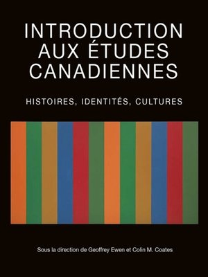 cover image of Introduction aux études canadiennes