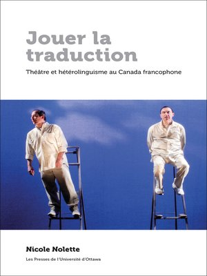 cover image of Jouer la traduction