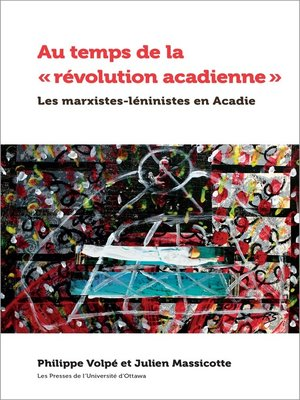 cover image of Au temps de la « révolution acadienne »