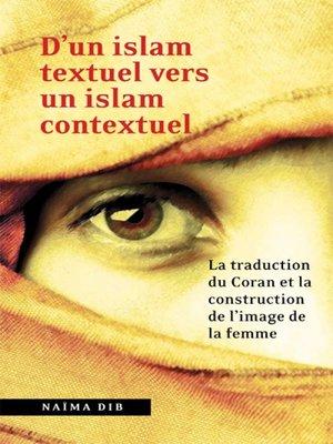 cover image of D'un islam textuel vers un islam contextuel