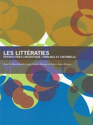 cover image of Les Littératies