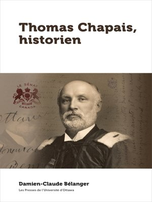cover image of Thomas Chapais, historien