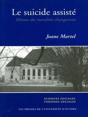 cover image of Le Suicide assisté
