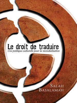 cover image of Le Droit de traduire