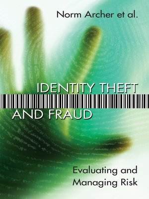 cover image of Identity Theft and Fraud