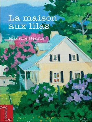 cover image of La maison aux lilas