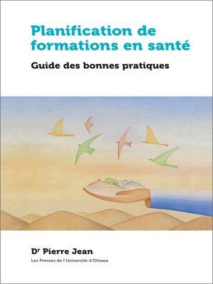 cover image of Planification de formations en santé