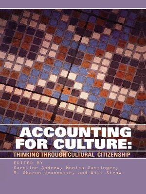 cover image of Accounting for Culture