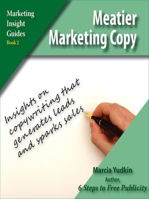 cover image of Meatier Marketing Copy