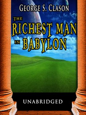 cover image of The Richest Man in Babylon