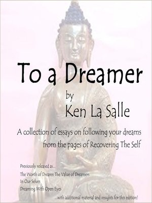 cover image of To a Dreamer