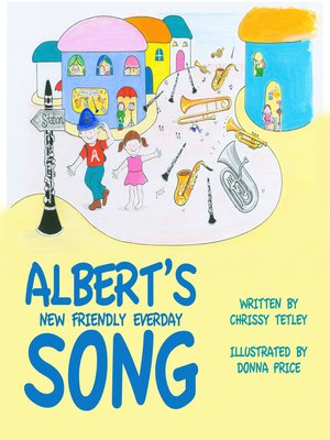 cover image of Albert's New Friendly Everyday Song