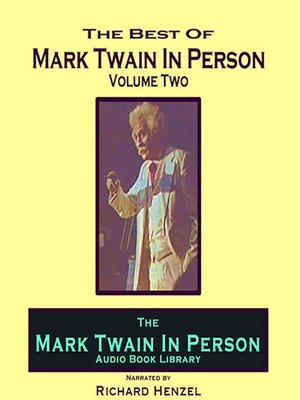 cover image of Mark Twain In Person, Volume 2