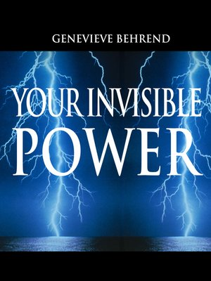 cover image of Your Invisible Power