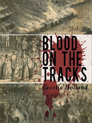 cover image of Blood on the Tracks