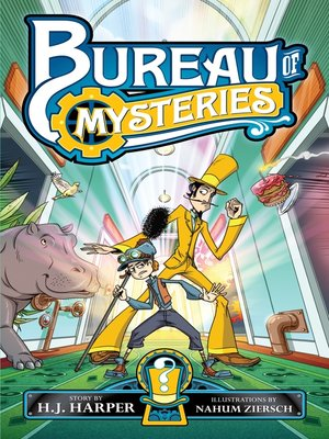cover image of Bureau of Mysteries