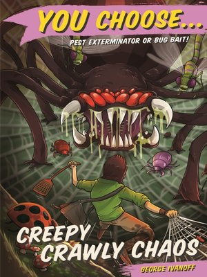 cover image of Creepy Crawly Chaos