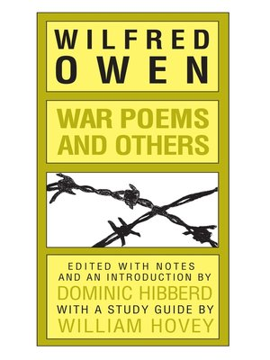 cover image of War Poems and Others