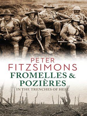 cover image of Fromelles and Pozières