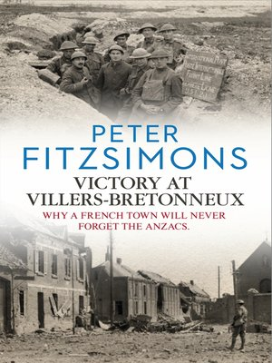 cover image of Victory at Villers-Bretonneux