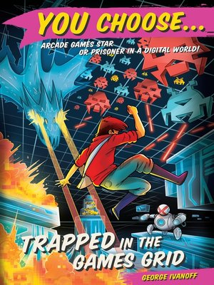 cover image of Trapped in the Games Grid