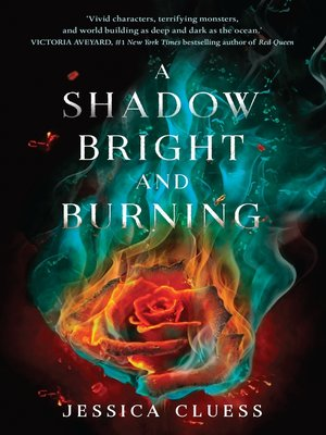 cover image of A Shadow Bright and Burning