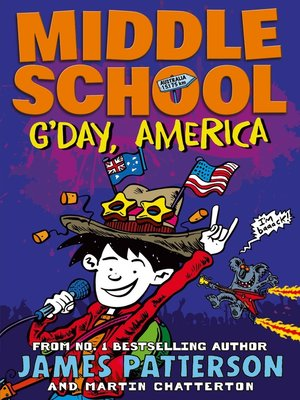 cover image of G'day, America
