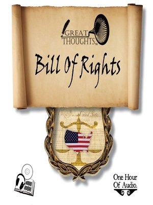 cover image of US Bill of Rights