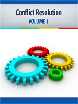 cover image of Conflict Resolution, Volume 1
