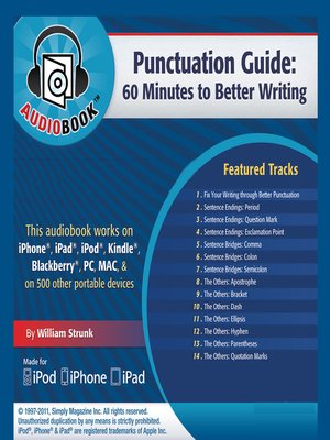 cover image of Punctuation Guide