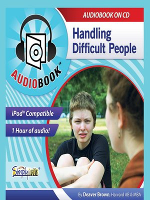 cover image of Handling Difficult People