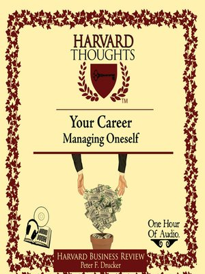 cover image of Managing Oneself