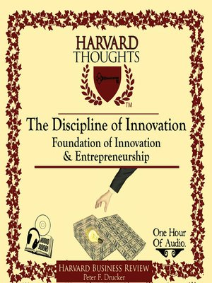 cover image of The Discipline of Innovation